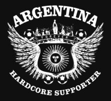 Argentina Hardcore Supporter by worldcup