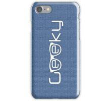 Geeky boy iPhone Case/Skin