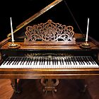 Streicher 1869 Grand Piano by kkmarais