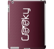 Geeky G iPad Case/Skin