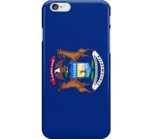 Smartphone Case - State Flag of Michigan - Vertical iPhone Case/Skin
