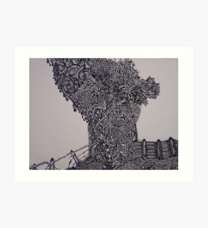 'Tree of reality' Art Print