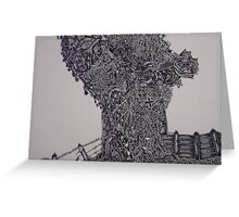 'Tree of reality' Greeting Card