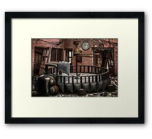 Time After Time Framed Print