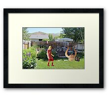 You said you'd never leave--you're such a ……..well, I guess that goes without saying! Framed Print