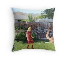 You said you'd never leave--you're such a ……..well, I guess that goes without saying! Throw Pillow