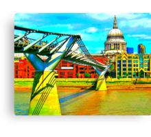 Millennium Bridge Canvas Print