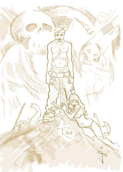 WIP Tupac Barbarian by Jan Szymczuk