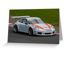Porsche cup challenge Greeting Card