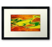 Martian Golf Course  Framed Print