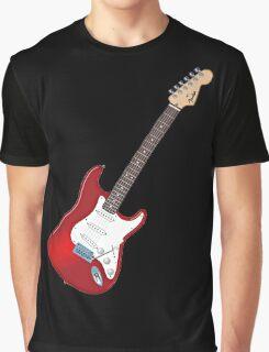 Fender Stratocaster Guitar Graphic T-Shirt
