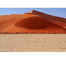 Sand Dune Curves Photographic Print