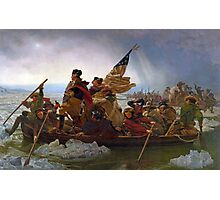 Washington Crossing the Delaware Photographic Print