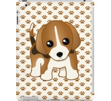 Cute Little Beagle Puppy Dog iPad Case/Skin