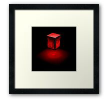 What's In The Box? Framed Print