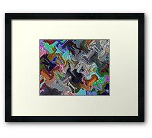 Hammer Rain Framed Print