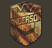 Custom Dredd Badge - (Anderson) by CallsignShirts