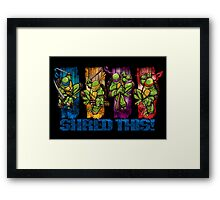 Shred This! Framed Print