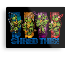 Shred This! Metal Print