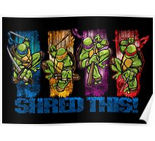 Shred This! Poster