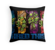 Shred This! Throw Pillow