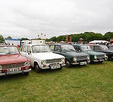 Renault Cars 6L 1972 by Keith Larby