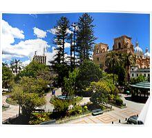 Magnificent Center of Cuenca Ecuador Poster