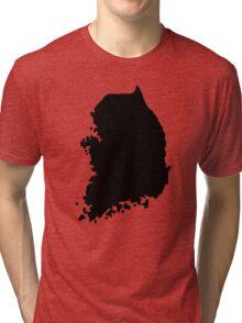 South Korea Tri-blend T-Shirt