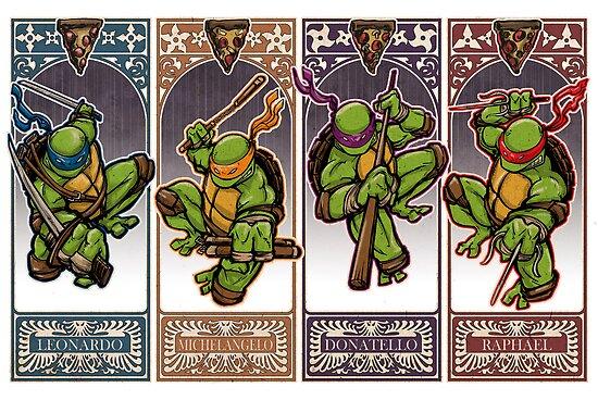 Ninja Masters by Patrick Scullin