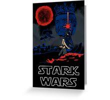 Stark Wars Greeting Card