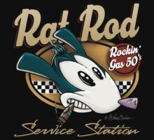 Rat Rod Service Station by NanoBarbero