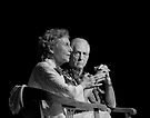Patricia Marx and Daniel Ellsberg by Alex Preiss