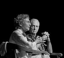 Patricia Marx and Daniel Ellsberg by Alex Preiss