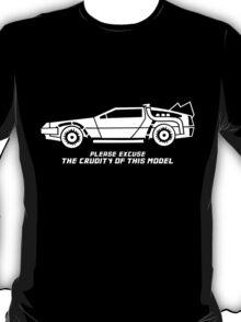 Delorean + text T-Shirt