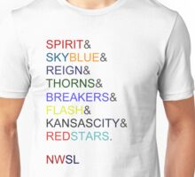 The NWSL 2013! Unisex T-Shirt