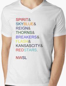 The NWSL 2013! Mens V-Neck T-Shirt