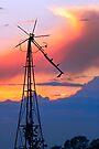 Seen Better Days Windmill by Kenneth Keifer