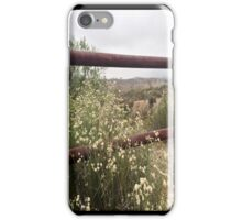 The Rusty Fence iPhone Case/Skin