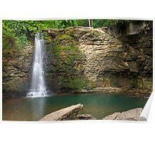 Hayden Falls in Dublin, Ohio Poster