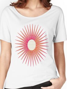 Flower with lace center Women's Relaxed Fit T-Shirt