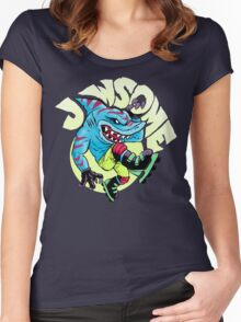 Jawsome! Women's Fitted Scoop T-Shirt
