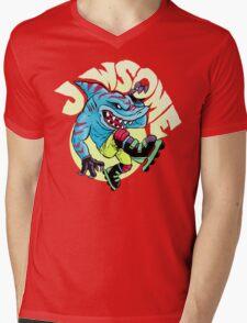 Jawsome! Mens V-Neck T-Shirt