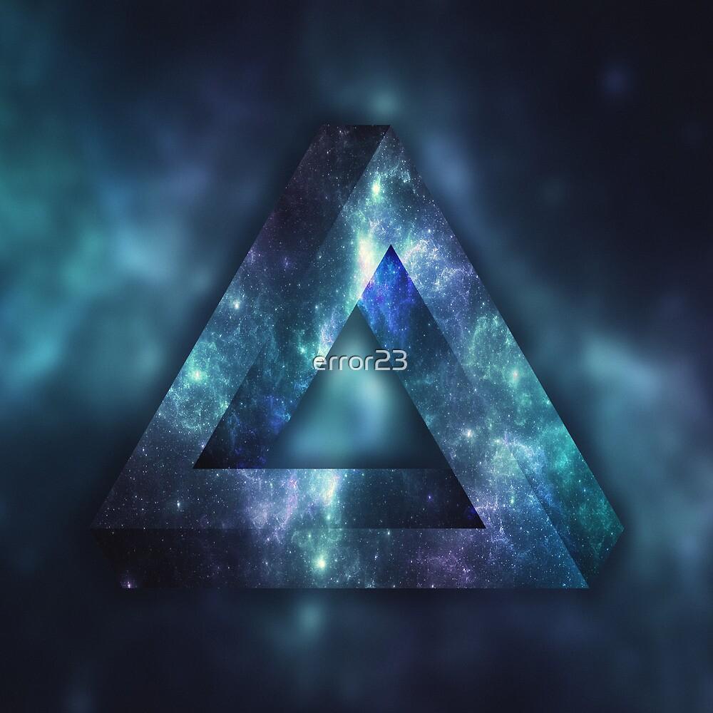 Infinite Triangle (Galaxy) by error23