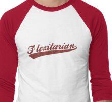 Flexitarian Men's Baseball ¾ T-Shirt