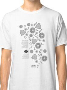*G E O M E T R I A* Diatoms Classic T-Shirt