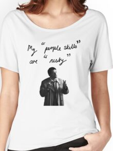 "My ""people skills"" are ""rusty"" Women's Relaxed Fit T-Shirt"
