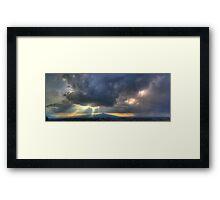 ©HCS Sunbeams Landing In Panoramic View Framed Print