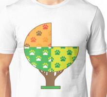 Dog Paw Seasons Unisex T-Shirt