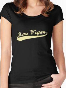 Raw Vegan Women's Fitted Scoop T-Shirt