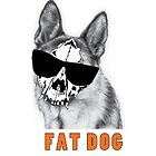 Fat dog by selmaroberts